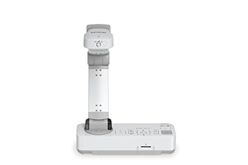 Epson DC-13 High-Definition Document Camera with HDMI, 16x Digital Zoom and 1080p Resolution,White
