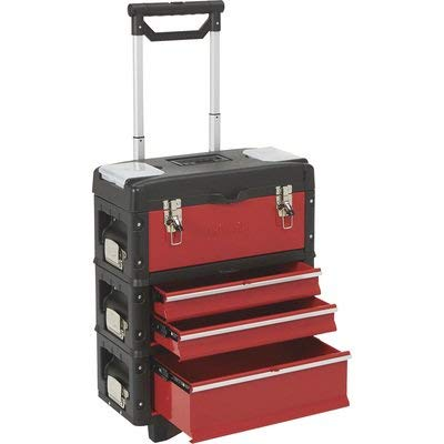 Ironton 20in. Toolbox Storage System - 20in.W x 12in.D x 25in.H