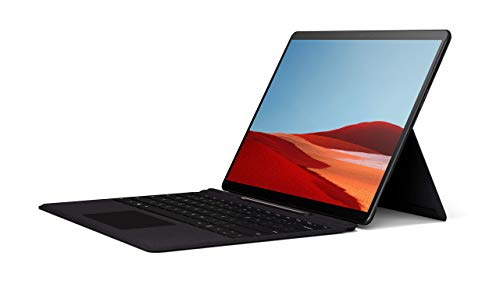 Microsoft Surface Pro X – 13' Touch-Screen – SQ1 - 16GB Memory - 256GB Solid State Drive – Wifi + 4G Lte – Matte Black, (Model: QFM-00001)
