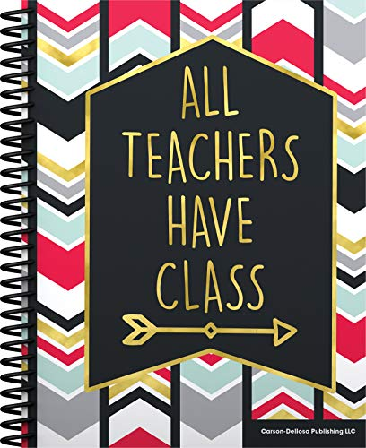 Carson Dellosa Teacher Planner 2020-2021, Weekly and Monthly Plan Book, 128 Pages