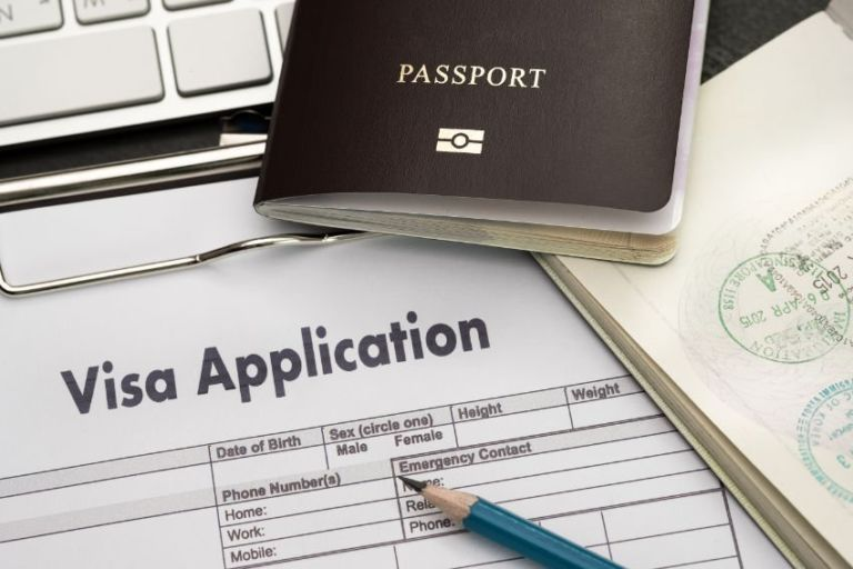 visa application to teach abroad