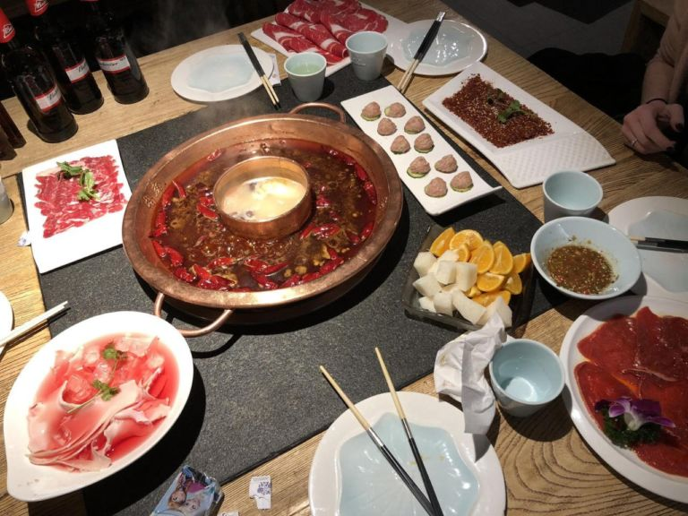 Savory Sichuan-style hot pot is just one of the many delicacies you'll instantly fall in love with in Shenzhen