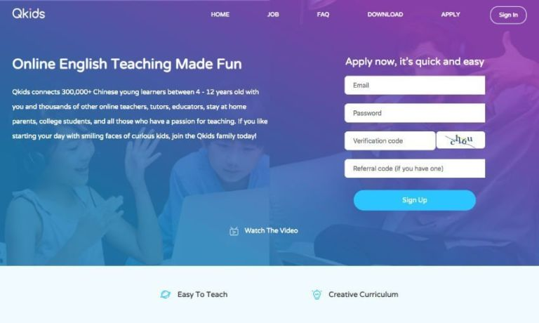 QKids Teacher Website