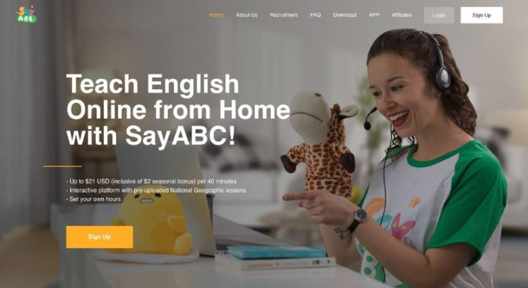 SayABC Teacher Website