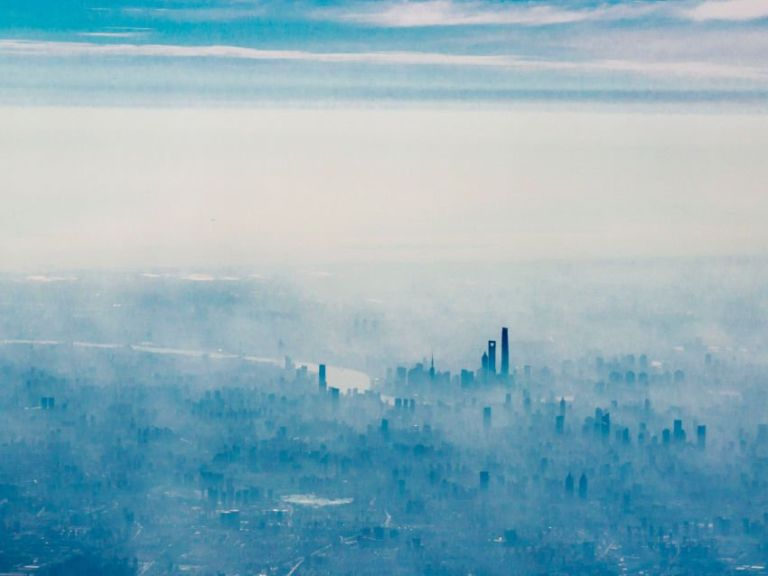 Especially in winter, Shanghai's air can get really polluted