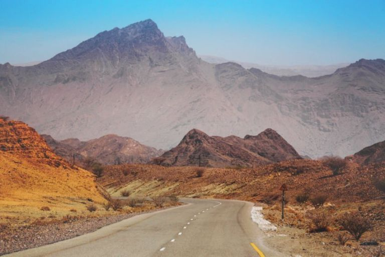 A road in Oman