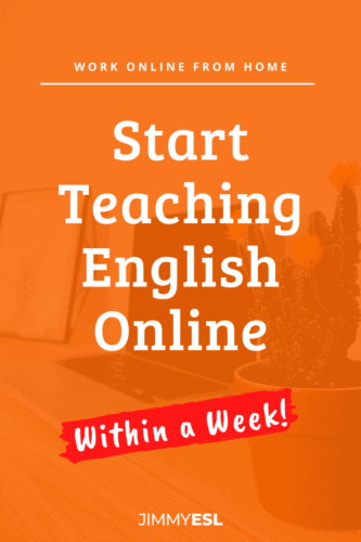 Start Teaching English from Home Within a Week