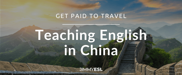 Title image for post teaching English in china